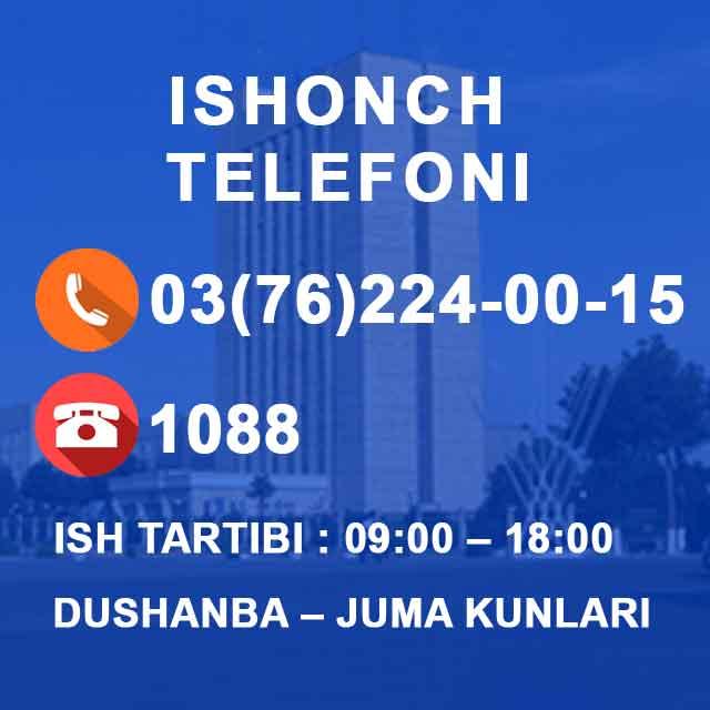 Ishonch telefonlari